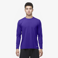 Eastbay EVAPOR Core Performance Training L/S - Men's - Purple / Purple