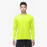 Eastbay EVAPOR Core Performance Training L/S - Men's - Yellow / Yellow