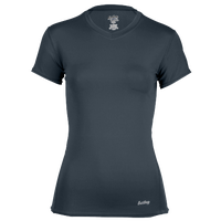 Eastbay EVAPOR Core Short Sleeve Compression Top - Women's - Grey / Grey