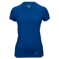 Eastbay EVAPOR Core Short Sleeve Compression Top - Women's - Blue / Blue