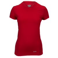 Eastbay EVAPOR Core Short Sleeve Compression Top - Women's - Red / Red