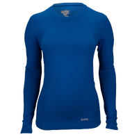 Eastbay EVAPOR Core Compression Top - Women's - Blue / Blue