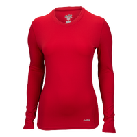 Eastbay EVAPOR Core Compression Top - Women's - Red / Red