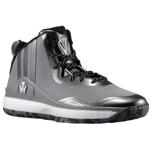 adidas J Wall - Men's - Basketball - Shoes - Wall, John - Light  Onix/Black/White