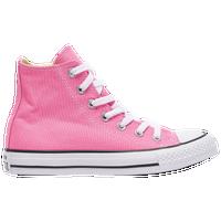 0d896e198670 Converse All Star Hi - Girls  Grade School - Pink   White