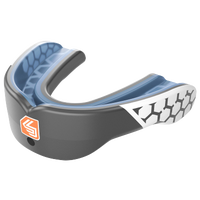 Shock Doctor Gel Max Power Mouthguard - Grade School - Grey / White