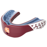 Shock Doctor Gel Max Power Mouthguard - Adult - Maroon / White