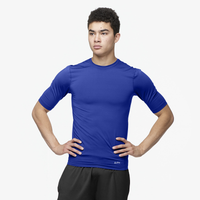 Eastbay EVAPOR Core Half Sleeve Compression Top - Men's - Blue / Blue