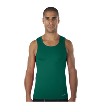 Eastbay EVAPOR Core Compression Tank - Men's - Dark Green / Dark Green
