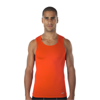 Eastbay EVAPOR Core Compression Tank - Men's - Orange / Orange