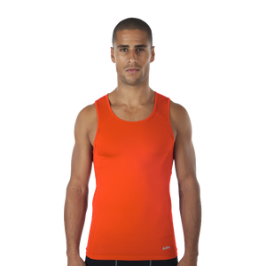Eastbay EVAPOR Core Compression Tank - Men's - Orange