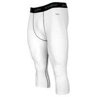 Eastbay EVAPOR Core Compression 3/4 Tights 2.0 - Men's - White