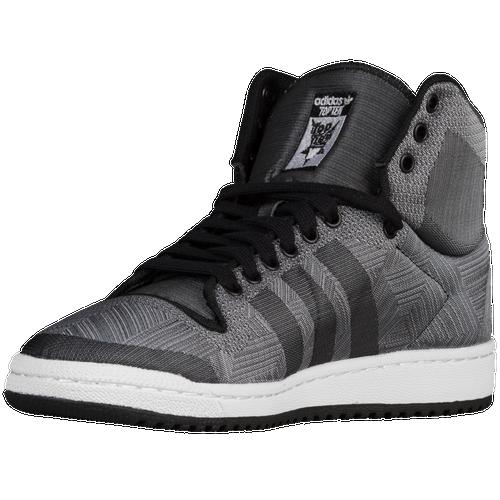 adidas originals top ten hi men 39 s casual shoes black grey clear onix. Black Bedroom Furniture Sets. Home Design Ideas