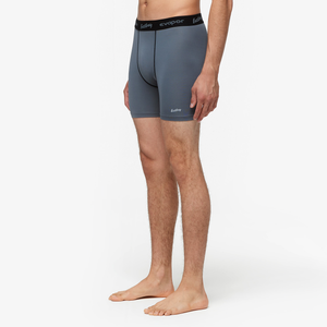 "Eastbay EVAPOR Core 6"" Compression Short 2.0 - Men's - Charcoal"