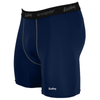 "Eastbay EVAPOR Core 6"" Compression Short 2.0 - Men's - Navy / Black"
