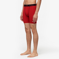 "Eastbay EVAPOR Core 6"" Compression Short 2.0 - Men's - Red / Black"
