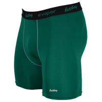"Eastbay EVAPOR Core 6"" Compression Short 2.0 - Men's - Green / Black"