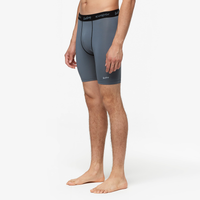 "Eastbay EVAPOR Core 8"" Compression Shorts 2.0 - Men's - Grey / Black"