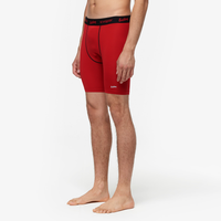 "Eastbay EVAPOR Core 8"" Compression Shorts 2.0 - Men's - Red / Black"
