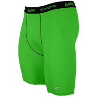 "Eastbay EVAPOR Core 8"" Compression Shorts 2.0 - Men's - Green / Black"