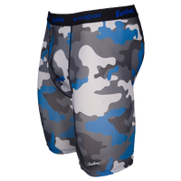 "Eastbay EVAPOR Core 8"" Compression Shorts 2.0 - Men's - Blue / Black"