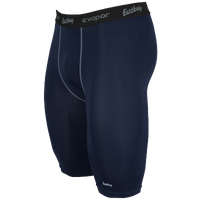 "Eastbay EVAPOR Core 10"" Compression Short 2.0 - Men's - Navy / Grey"