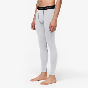 Eastbay EVAPOR Core Compression Tight 2.0 - Men's - White/Grey