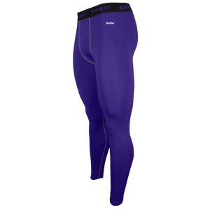 Eastbay EVAPOR Core Compression Tight 2.0 - Men's - Purple/Grey