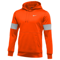 Nike Team Authentic Therma Pullover Hoodie - Men's - Orange