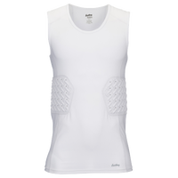 Eastbay Padded Compression Tank - Men's - All White / White