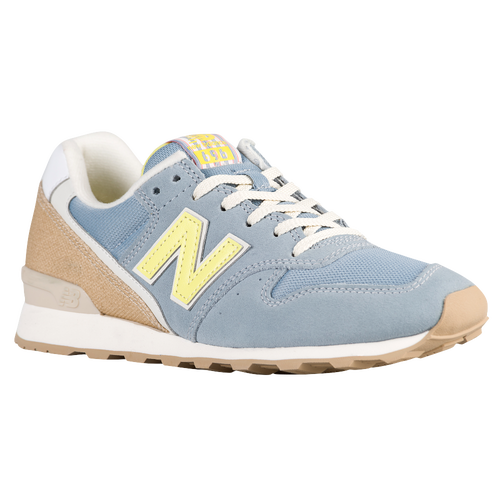 New Trendy New Balance 696 Grey/Yellow For Women Online