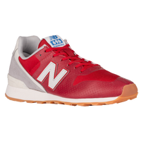 Latest New Balance 696 Red/Grey For Women Sale Online