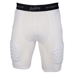 Eastbay Padded Compression Shorts - Men's - White