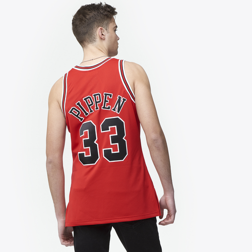 3aa071aed9b Mitchell   Ness NBA Authentic Jersey - Men s - Clothing - Chicago ...