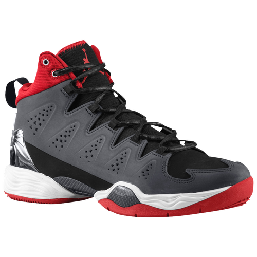 Jordan Melo M10 - Men's - Basketball - Shoes - Black/White/Anthracite/Gym  Red
