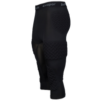 Eastbay Padded Compression 3/4 Tights - Men's - Black / Grey