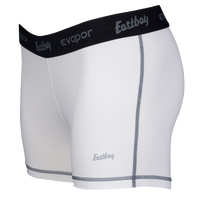 "Eastbay Evapor Core 3"" Compression Shorts - Women's - White / Black"