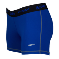 "Eastbay Evapor Core 3"" Compression Shorts - Women's - Blue / Black"