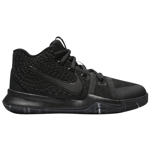 Nike Kyrie 3 - Boys\u0027 Preschool - Kyrie Irving - All Black / Black