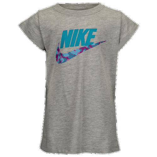 98249c30c Nike Iridescent Nike Core S/S T-Shirt - Girls' Preschool - Casual ...