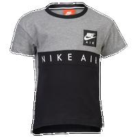 5ed305989f63 Nike Air Colorblock Top - Boys  Toddler - Grey   Black