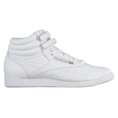 bb6173ae237f Reebok Freestyle Hi - Women s - Training - Shoes - White Silver