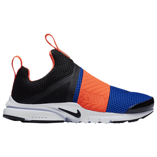 Nike Presto Extreme - Boys' Grade School - Casual - Shoes -  Black/Black/Racer Blue/Total Crimson