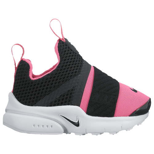 Nike Presto Extreme - Girls' Toddler - Casual - Shoes - Black/Black/Pink  Prime/White