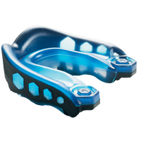 Shock Doctor Gel Max Mouthguard - Grade School - Blue / Black