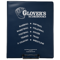 Glover's Scorebook Binder - Navy / White