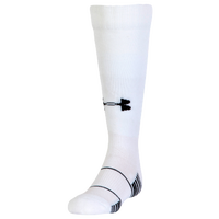 Under Armour Team Over the Calf Socks - Grade School - White / Black