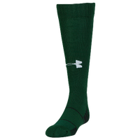 Under Armour Team Over the Calf Socks - Grade School - Dark Green / Dark Green