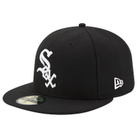 4d82dcb0810d New Era MLB 59Fifty Authentic Cap - Men s - Chicago White Sox - Black    White