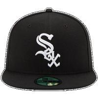 cb0440b6a433d6 New Era MLB 59Fifty Authentic Cap - Men s - Chicago White Sox - Black    White